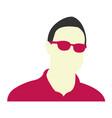 professional avatar icon avatar man icon man vector image vector image
