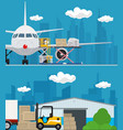 set air cargo and storage services