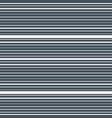 striped horizontal seamless pattern vector image vector image