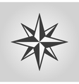 The star icon Star symbol Flat vector image vector image