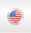 us flag vector image vector image