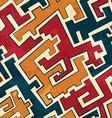 grunge tribal seamless pattern vector image