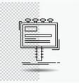 ad advertisement advertising billboard promo line vector image vector image