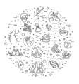 graphic set alternative medicine