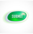 green submit buttons vector image vector image