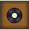 Old Vinyl Disc vector image vector image