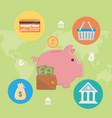 payment online icon set design vector image
