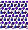 plum pattern vector image vector image