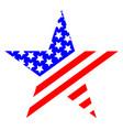 star united states america symbol logo vector image vector image