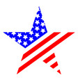 star united states of america symbol logo vector image vector image