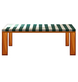 A table furniture vector image vector image