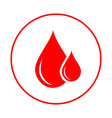 blood donor vector image
