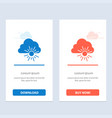cloud nature spring sun blue and red download and vector image