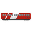 express wagon icon cartoon style vector image