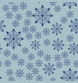 falling snowflakes seamless background for xmas vector image vector image