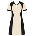 Fashion dress vector image vector image