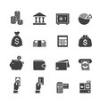 money and finance icon vector image