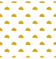 Tent pattern cartoon style vector image vector image