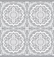 traditional moroccan art mandala seamless pattern vector image