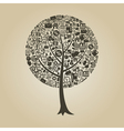 Tree business vector image vector image