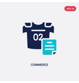 two color commerce icon from hockey concept vector image