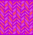 zigzag pattern seamless bright purple magenta vector image