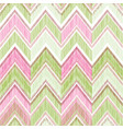 abstract zig zag geometric tiled pattern fabric vector image vector image