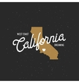 California dreaming t-shirt graphics vector image vector image