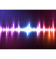 color light music equalizer vector image