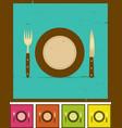grunge restaurant banner set vector image vector image
