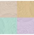 paper texture four color set vector image