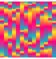 rainbow stripes pattern vector image