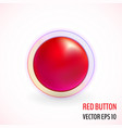 red accept buttons vector image vector image
