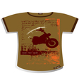 t shirt design vector image vector image