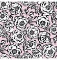 Tender elegant paris style peony flower pattern
