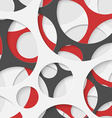 Abstract Circles Geometric Background vector image