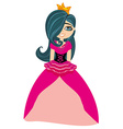 beautiful sweet princess vector image