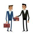 business teamwork executive vector image vector image
