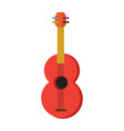 colored guitar toy icon vector image