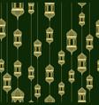 ramadan seamless pattern vector image