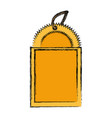 shopping tag label vector image vector image