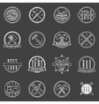 Tools badges and emblems vector image