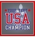 USA Champion Badge vector image vector image