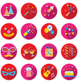 Party Objects and Icons Set vector image