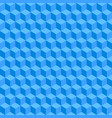 blue seamless geometric texture background vector image