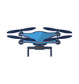 isolated drone design vector image
