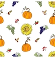 Seamless pattern Thanksgiving-022 vector image vector image