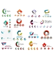 Abstract company logo mega collection type
