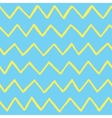 Abstract hand drawn zig zag lines seamless vector image vector image