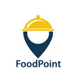 food point image vector image vector image